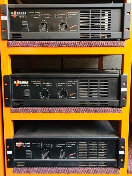Amplificador Potencia Hotsound Hs 3.0 Sx - 12 X Sem Juros