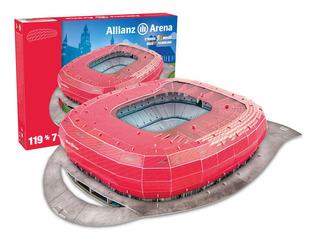 Puzzle 3d - Estadio Allianz Arena Bayern Munich