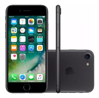 iPhone 7 32gb Black Novo Nota Fiscal Original Apple