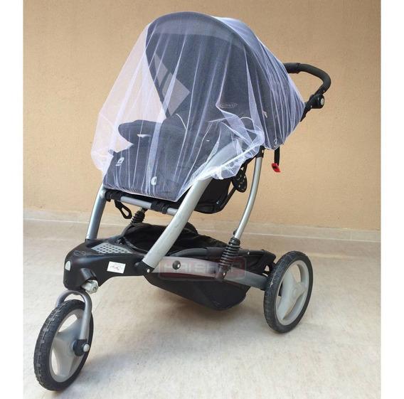 Mosquiteiro Bebê Conforto Carrinho Rede Grd Poliéster Quinny