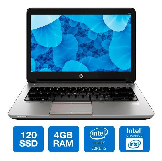 Notebook Hp 640 Intel Core I5 4200m Ssd 120gb 4gb Semi Novo