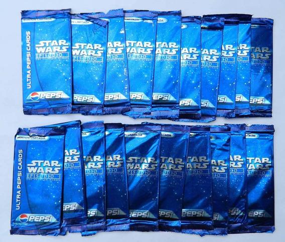 50 Sobres Ultra Pepsi Cards Star Wars Episodio 1 Sellados