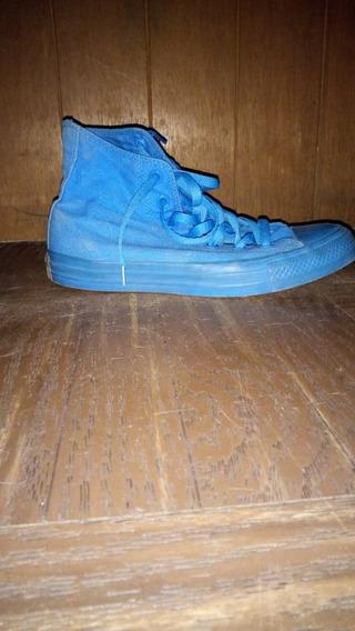 Converse Seminuevos , Talla 5.5 Color Azul