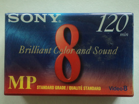 Fita Sony:8mm:p6-120mp:lacrado