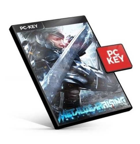 Steam Key Metal Gear Rising Revengeance Ptbr Código Original
