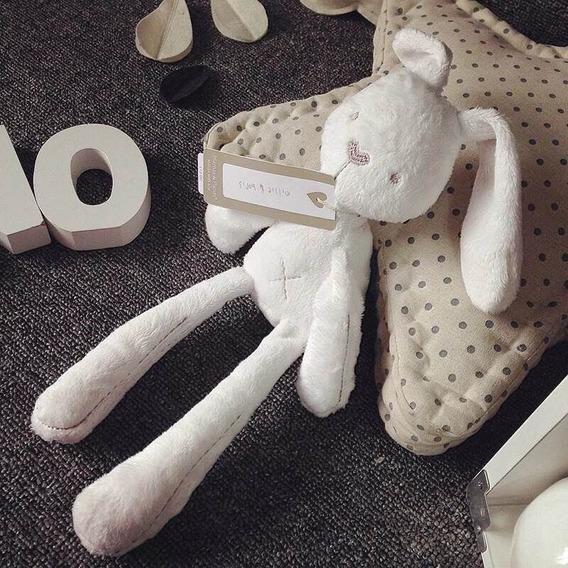 Set De Conejos Peluche Blanco Y Rosa Suave Mamas & Papas