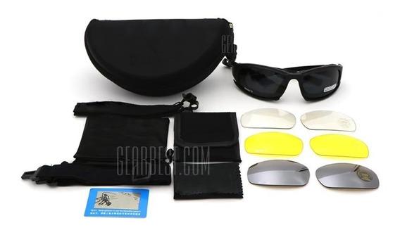Óculos Polarizado Com 4 Lentes Para Vários Tipos De Uso