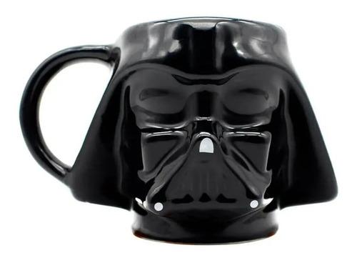 Caneca 3d Geek Disney Star Wars Darth Vader 500ml
