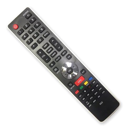 Control Remoto Led Tv  Hisense Jvc Bgh Tecla Epg