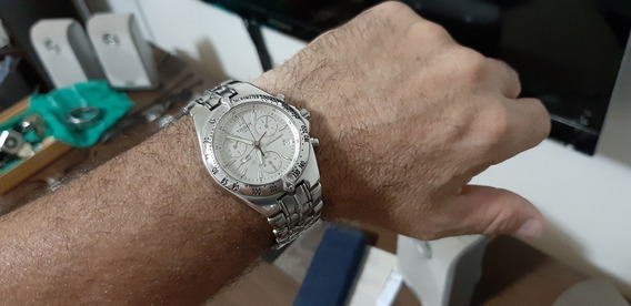 Relogio Tissot Pr200 Cronograf Vidro Saphira Aço 200 Metros