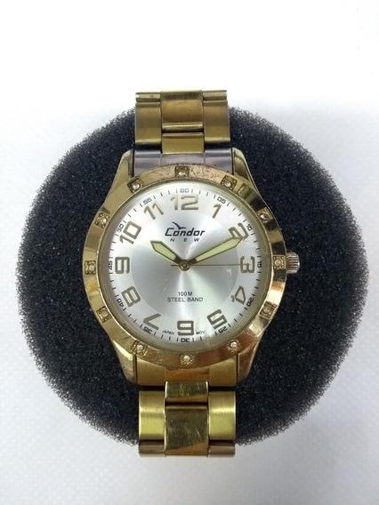 Relógio Feminino Condor Kt80084bg Dourado - Leia O Anúncio