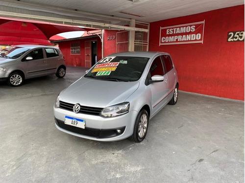 Volkswagen Fox  1.6 Vht I-motion 2013 Prata Flex  Prime