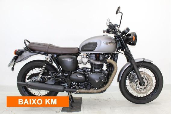 Triumph Bonneville T120 Black 1200 2018 Cinza