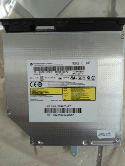 Gravador E Leitor De Dvd E Cd Notebook Hp G42 Model Ts-l633