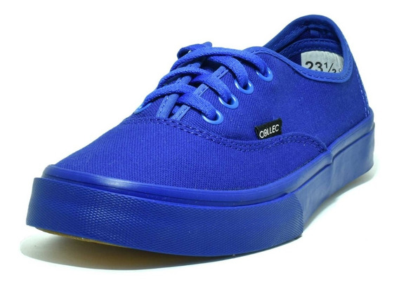 Collec Tenis E-75 Lona Canvas Unisex Authentic Azul