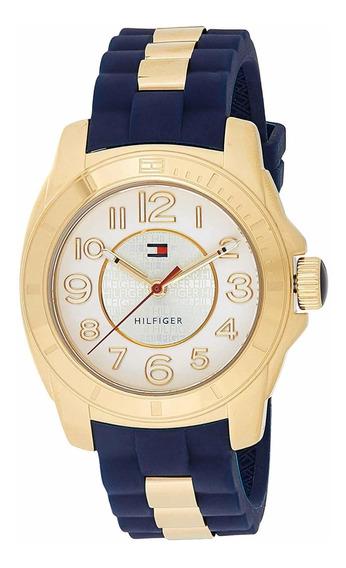 Reloj Tommy Hilfiger Chapado En Oro Dama Envío Gratis