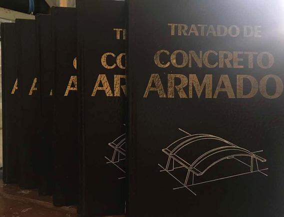 Coleção Tratado De Concreto Armada - Coleção 6 Volumes
