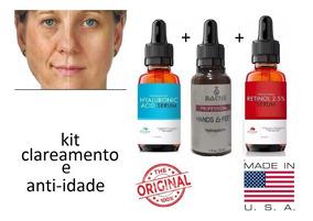 Acido Hialuronico Hidroquinona E Retinol Clareador Manchas