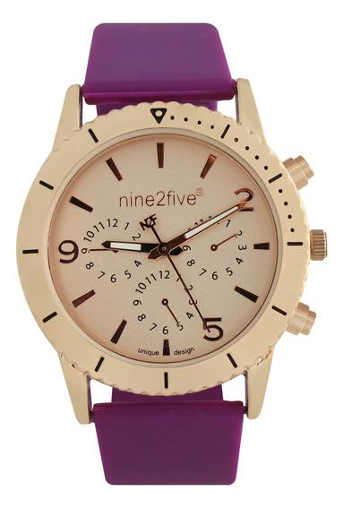 Reloj Original Dama Marca Nine2five Modelo Alar10mrrg