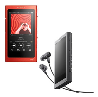 Sony Walkman Mp3 Mp4 Video 16gb 45 Hs Touch Bt + Auriculares