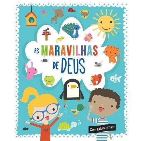 Livro Infantil Bebês Maravilhas De Deus Capa Dura Ilustrado