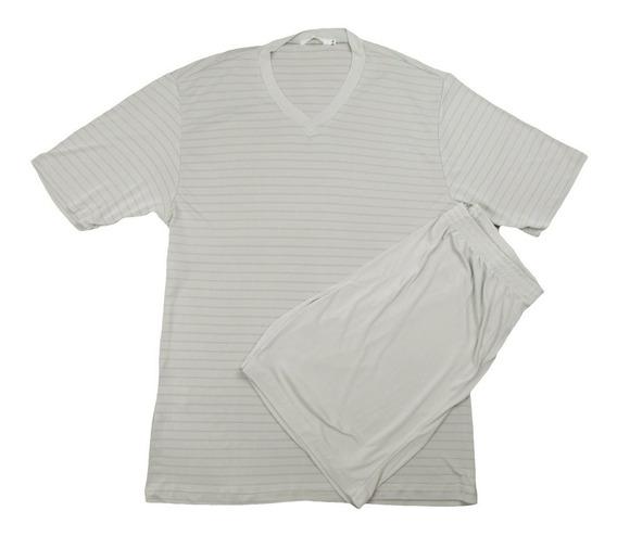 Pijama Liganete Masculino Malha Fria