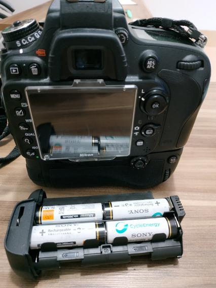 D 610 Da Nikon + Grip Com 80 Mil Clicks + Frete Grátis