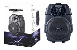 Parlante Karaoke Mtk Bafle Subwoofer Bluetooth Usb Microfono