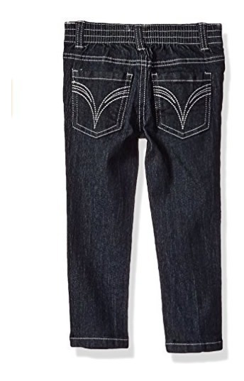 Conjunto Jeans, Chaleco Y Playera Limited Too Niña Talla 2t