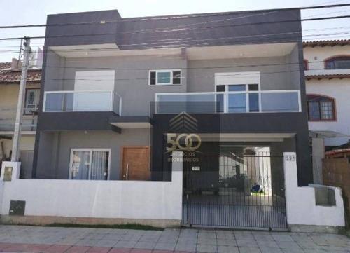 Casa Com 3 Dormitórios À Venda, 175 M² Por R$ 760.000,00 - Balneário - Florianópolis/sc - Ca0428