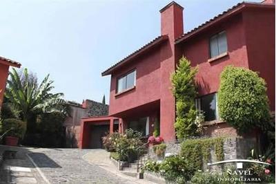 Casa En C. H. Muy Tranquilo Y Arbolado, Cav-3675