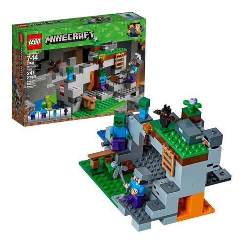 Lego Minecraft 21141 La Cueva Del Zombi