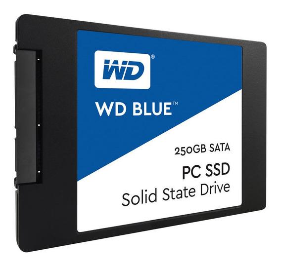 Disco Solido 250gb Wd Blue Ssd 2.5 Sata3 6gb/s Mallweb 2