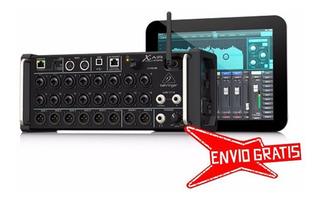 Ftm Mixer Digital Behringer Xr18 Air - Consola Audio - 18 Ch
