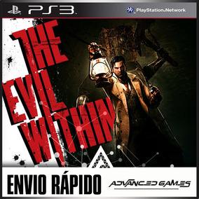 The Evil Within - Horror Terror - Jogos Ps3 Psn Digital