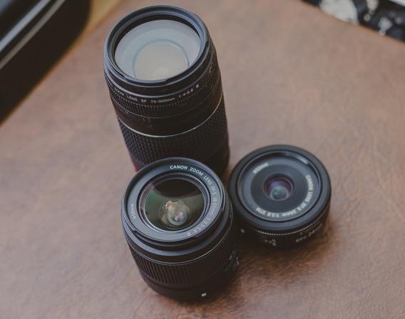 Lentes Fotográficas, Canon