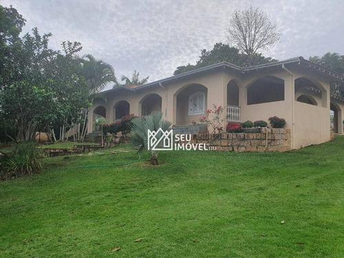 Imagem 1 de 30 de Casa Com 3 Dormitórios, 521 M² - Venda Por R$ 1.680.000,00 Ou Aluguel Por R$ 4.240,00/mês - Condomínio Mangueiras De Itu - Itu/sp - Ca2368