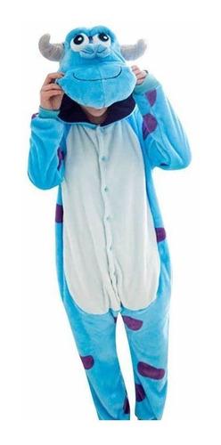 Imagen 1 de 4 de Pijama Disfraz Kigurumi Tipo Sully Adulto