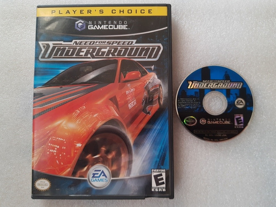 Game Cube: Need For Speed Underground Completo!! Raríssimo!!