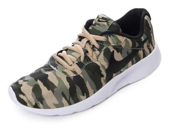 Tenis Nike Tanjun Print Gs Originales + Envío Gratis + Msi