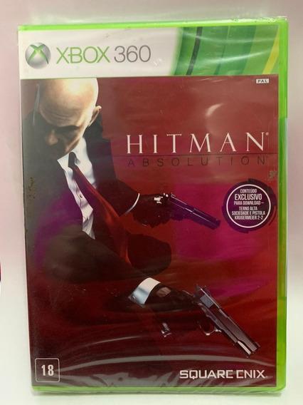 Jogo Hitman Xbox 360-novo- Lacrado