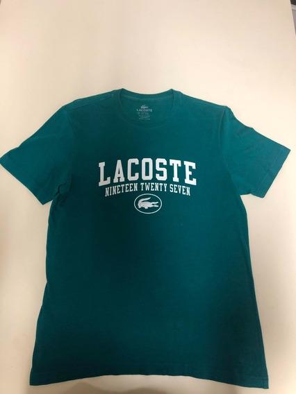 Camiseta Lacoste Verde