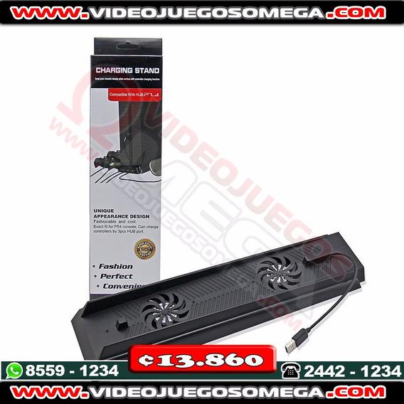 Base Con Ventilador Para Consola Ps4