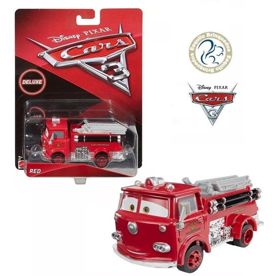 Disney Cars 3 - Deluxe - Red Bombeiro ( Mattel )