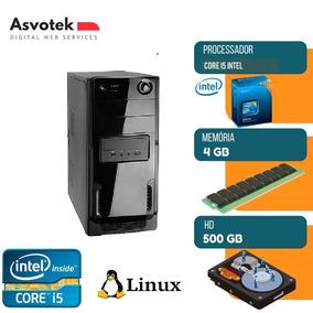 Computador Intel Asvotek Core I5 4gb Hd500 Mod Asi524500