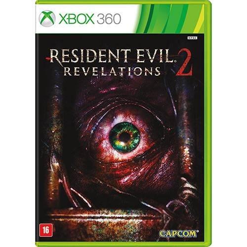Xbox 360 Resident Evil Revelations 2 Novo Lacrado