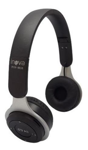 Fone De Ouvido Bluetooth Sem Fio Com Microfone E Radio Fm