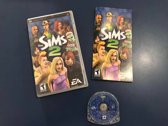 The Sims 2 Psp Umd Jogo Original Playstation Sony Game