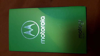 Celular Moto G6play (usado) Com Carregador, Fone De Ouvido.