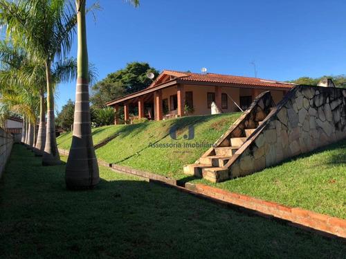 Imagem 1 de 30 de Chácara Com 3 Dormitórios À Venda, 2400 M² Por R$ 1.350.000,00 - Residencial Alvorada - Araçoiaba Da Serra/sp - Ch0025